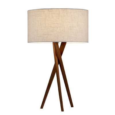 """Bryce 25"""" H Table Lamp with Drum Shade - Wayfair"""