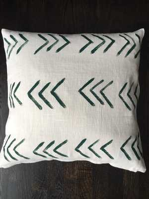 "Arrow Design Pillow Cover -  20""x20"" - Insert sold separately - Etsy"