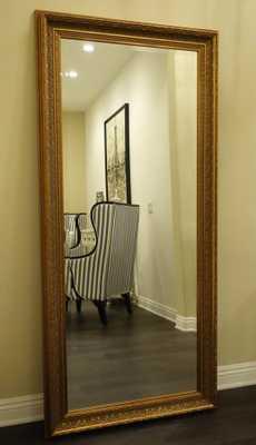 Elegance Ornate Floor Mirror - Etsy
