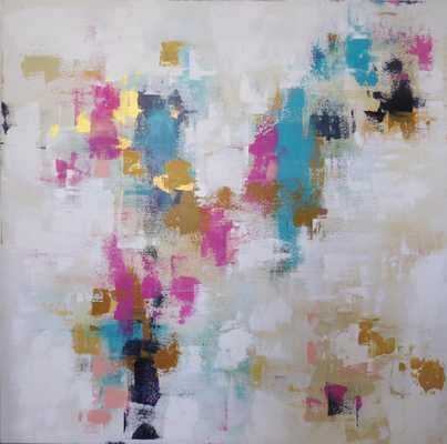 """Abstract """"Harmony"""" acrylic painting - 36"""" x 36"""" - Unframed - Etsy"""