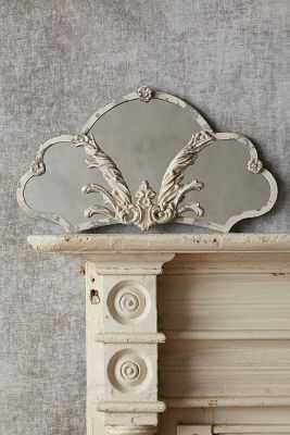 French Fan Mirror - Scallop - Anthropologie