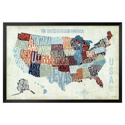 Art.com - USA Modern Blue - Target