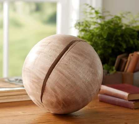 Wooden Sphere - Pottery Barn