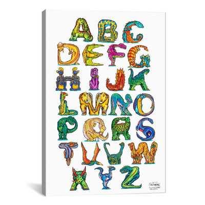 Dinosaur Alphabet by David Russo Graphic Art - Wayfair