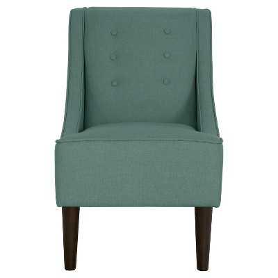 Threshold Swoop Arm Chair - Turq - Target