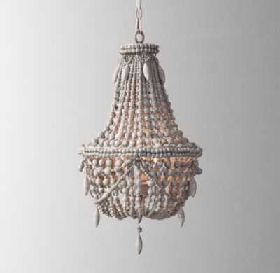 Anselme small chandelier silver grey - RH Baby & Child