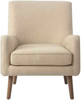Custom Mid-Century Modern Upholstered Accent Chair - Home Decorators