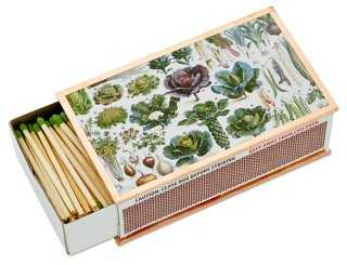 Harvest Vegetables Matchbox - One Kings Lane
