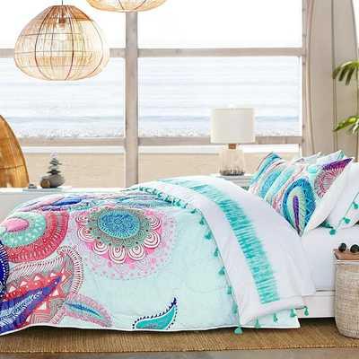 Island Paisley Comforter - Pottery Barn Teen