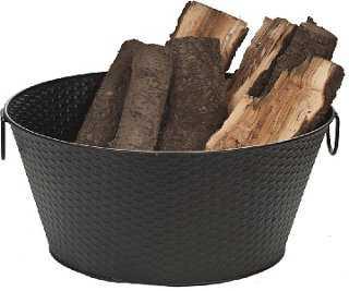 Steel Log Bucket - One Kings Lane