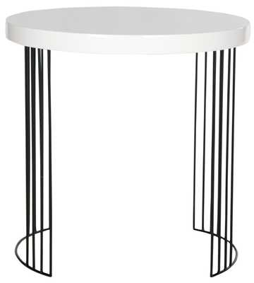 KELLY LACQUER SIDE TABLE - Arlo Home
