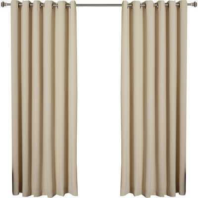 "Extra Wide Width Thermal Single Curtain Panel, 84"" - Wayfair"