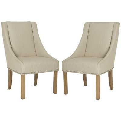 Molly Sloping Arm Chair set of 2 - AllModern