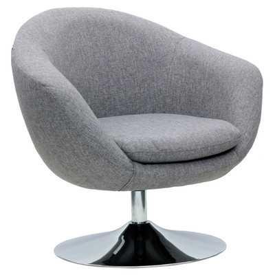 Disc Base Comet Barrel Club Chair - Wayfair