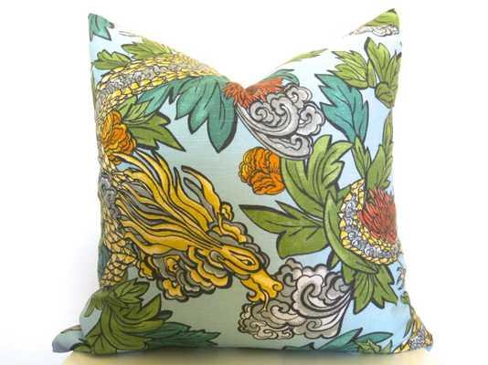 Dwellstudio Dragon Ming Pillow Cover 18x18 insert sold separately - Etsy