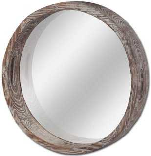 Foster Accent Mirror, Natural - One Kings Lane