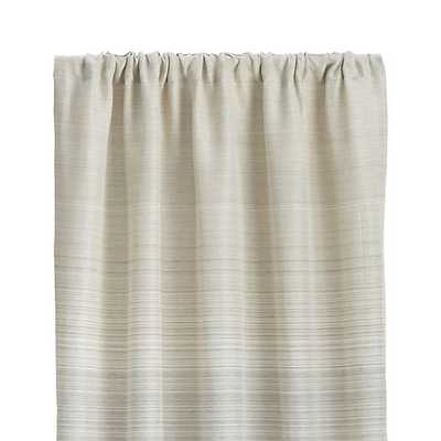 """Wren Curtains - 50""""x96"""" - Crate and Barrel"""