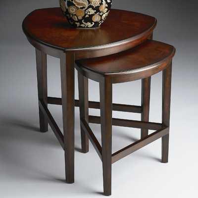 Finnegan 2 Piece Nesting Tablesby Butler - Wayfair