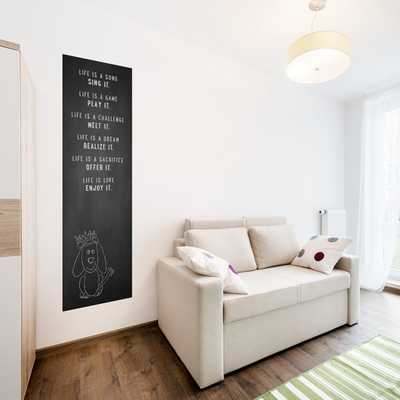 6' Chalkboard Wall Decal - 2x6 Panel - Etsy