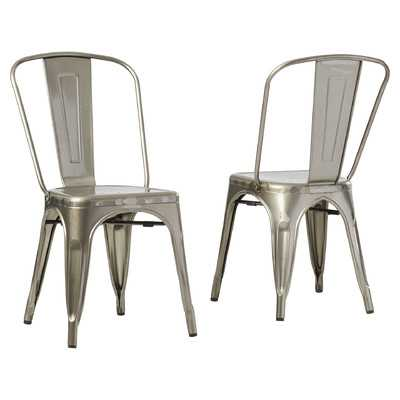 Durango Café Side Chair / set of 2 - Wayfair
