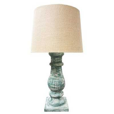 Kenroy Home Table Lamp - Antique Wood - Target