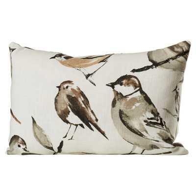 """Eldora Polyester 12X18"""" Lumbar Pillow-Polyester Insert - Ballard Designs"""