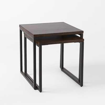Box Frame Nesting Tables - Wood - West Elm