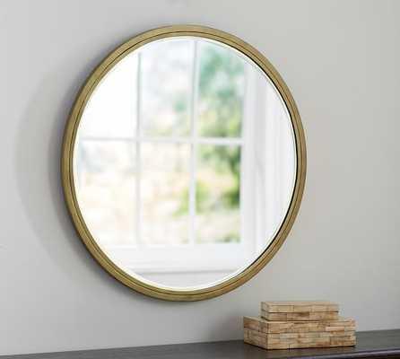 Jensen Wall Mirror - Round - Pottery Barn