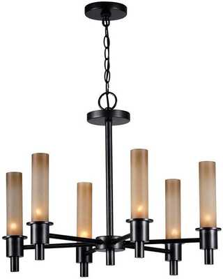 DUNWOODY 6-LIGHT CHANDELIER - Home Decorators