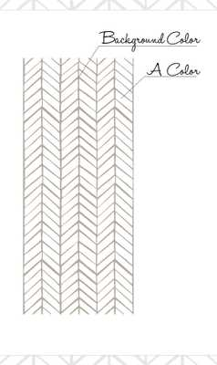 Self adhesive vinyl wallpaper - Chevron pattern print - Etsy