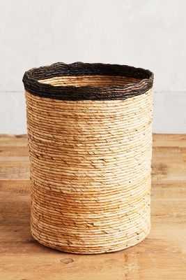 Rimmed Basket - Anthropologie