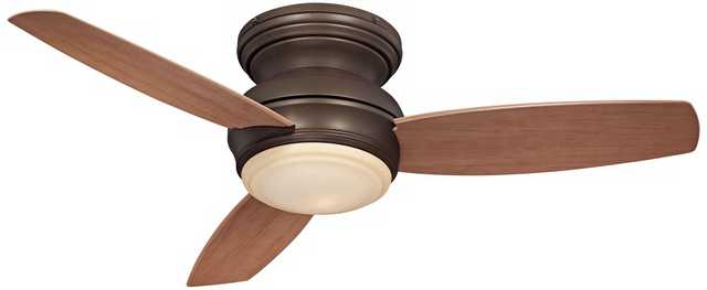 "44"" Minka Traditional Concept Oil-Rubbed Bronze Ceiling Fan - Lamps Plus"