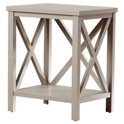 Newbury End Table - Grey - Wayfair