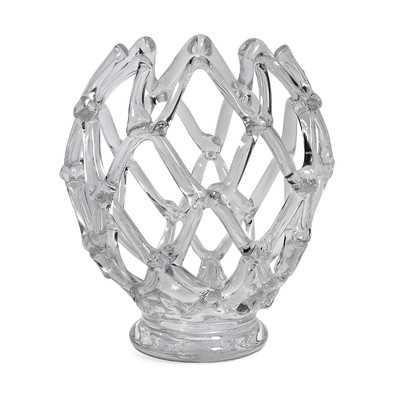 Glass Web Sculpture - High Fashion Home