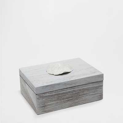 GRAY NATURAL WOOD BOX - Zara Home