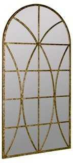 Jarmo Wall Mirror, Aged Gold - One Kings Lane