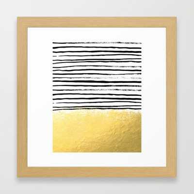 "FRAMED ART PRINT/ CONSERVATION NATURAL MINI (12"" X 12"") - Society6"
