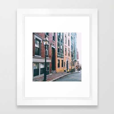 """Beacon Hill - 10"""" x 12"""" - Framed - Society6"""