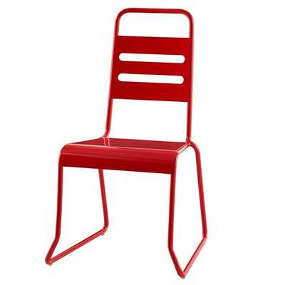 Homeroom Play Chair-Red - Land of Nod