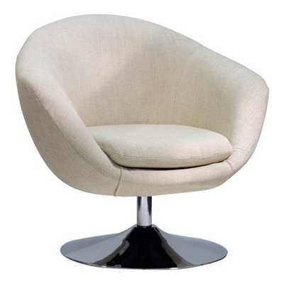 Overman Disc Base Comet Barrel Chair - AllModern