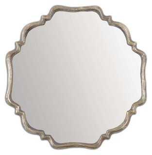 Cayla Wall Mirror, Gray - One Kings Lane