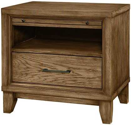 SLOANE 1-DRAWER NIGHTSTAND - LATTE - Home Decorators
