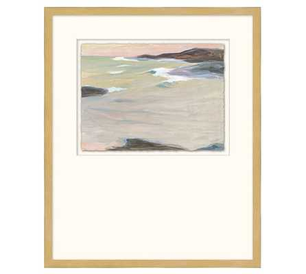 Incoming Tide Framed Print - Pottery Barn