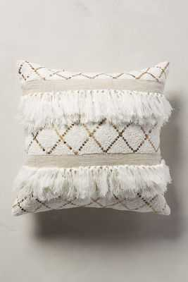 """Moroccan Wedding Pillow-18""""x18""""-Insert included - Anthropologie"""