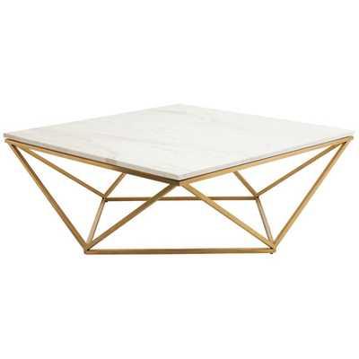 Jasmine Coffee Table in Gold - jossandmain.com
