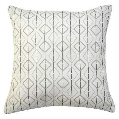 "Thresholdâ""¢ Print Pillow Geo 18""-Polyester  fill - Target"