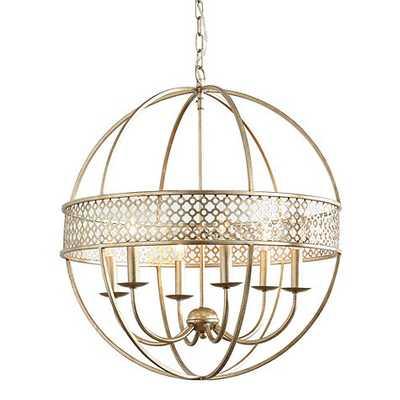 Marais 6 Light Orb Chandelier - Ballard Designs