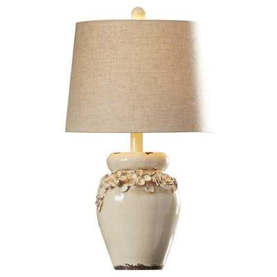 """Chamberlin 25"""" H Table Lamp with Empire Shade - Wayfair"""