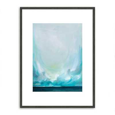 """Teal Winds - 30""""w x 40""""l. - framed - West Elm"""