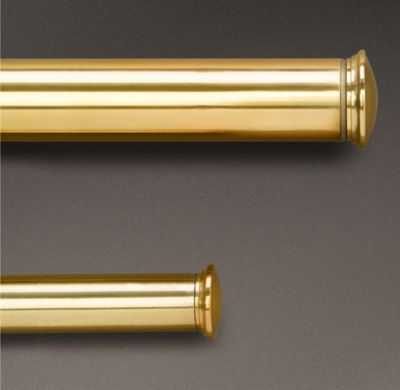 ESTATE EXTENSION ROD - BRASS - RH